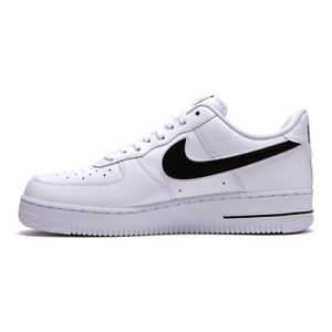 Nike Men s Air Force 1 07 3 Low leather White Red AO2423-101 Size 5 ... 21e21679aa