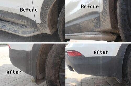 4Pcs Car Mud Flaps Splash Guards Fender Mudguard for VW Tiguan R-Line 2018 2019