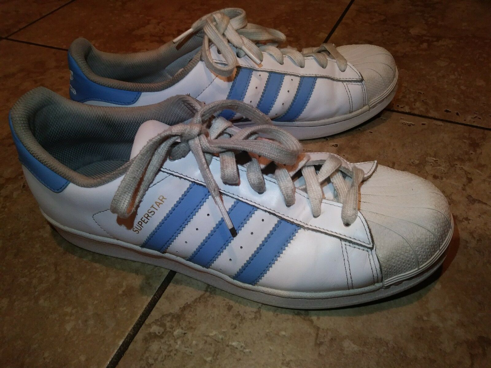 Mens White Light bluee  gold Adidas Trainers Trainers Trainers shoes Size 11 BY3723 413d03
