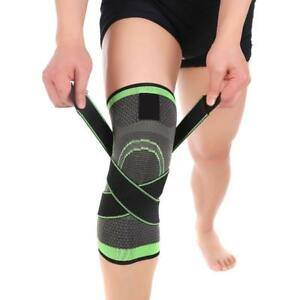 Knee-Protector-Brace-Support-Pad-Sports-Protect-Rodilleras-Leg-Compression-Wrap