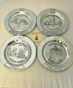 Philadelphia-Flyers-1975-Stanley-Cup-Series-Win-Commemorative-4-Plate-Set