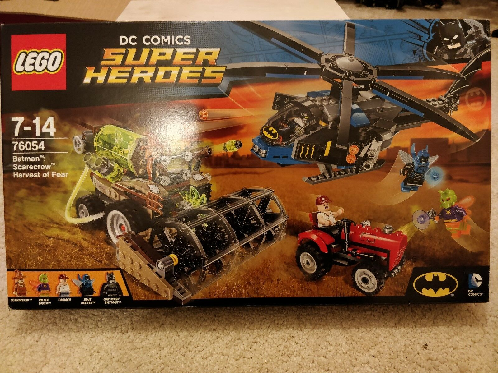 Lego DC Super Heroes 76054 Scarecrow Harvest of Fear NEW SEALED BNISB