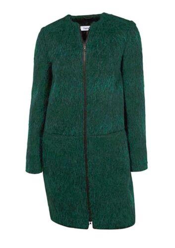 in da Heine donna Cappotto verde lana TwgAHqB