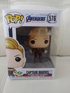 Avengers Movies Endgame Captain Marvel Vinyl Figure 576 Funko Pop