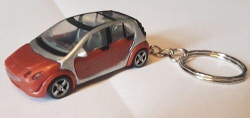 model/diecast smart forfour smart Car Keyring Keychain