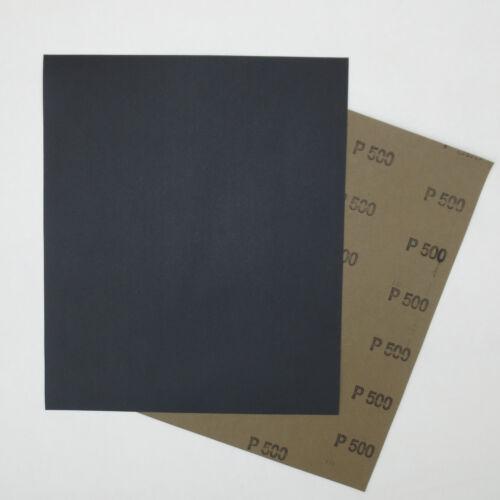P5000 50 Schleifbögen wasserfestes Nassschleifpapier wählbar von Korn P60
