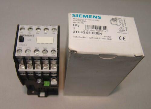 24VDC  NEU//OVP 3TH43 55-0BB4 Siemens Schütz 3TH4355-0BB4