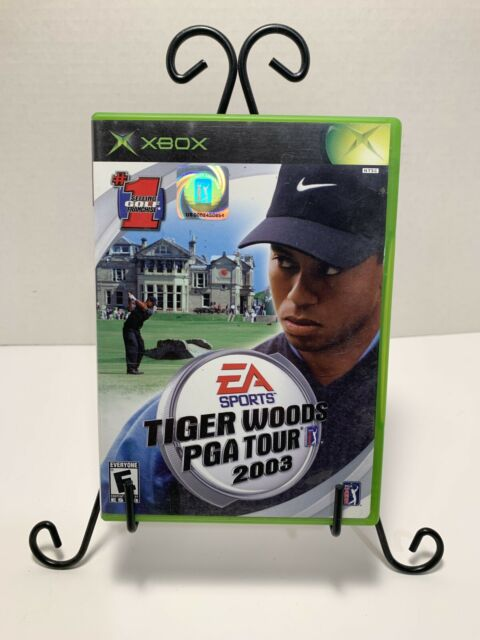 Tiger Woods PGA Tour 2003 for Xbox - CIB - TESTED