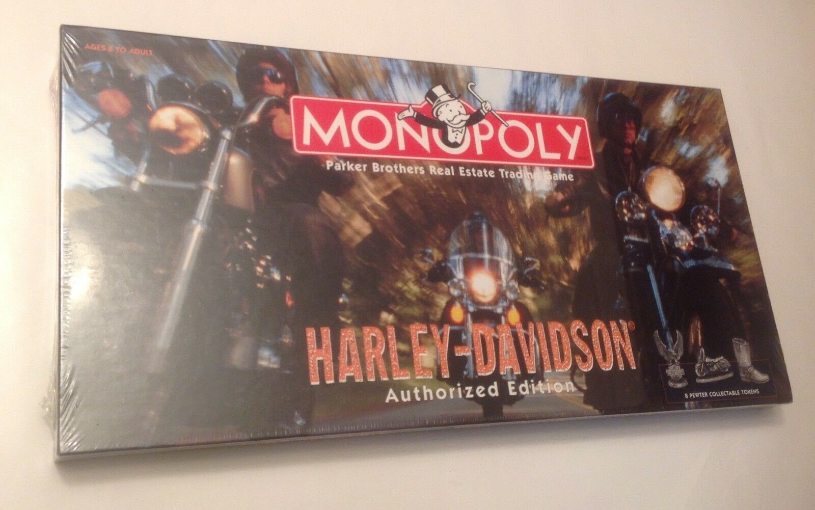 PARKER BredHERS  Harley Davidson MONOPOLY BOARD GAME  AUTHORIZED EDITION  NEW