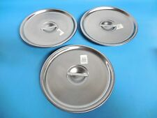 Vollrath 79220 Bain Marie Pot Cover Lot Of 3