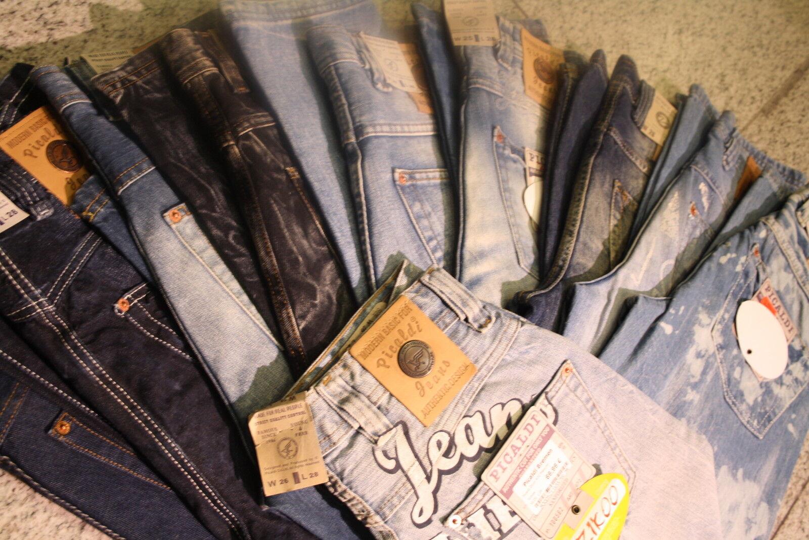Picaldi Zicco Zicco Zicco 472 la raccolta di 10 jeans nuovo rimanenze della dimensioni speciali f8a501