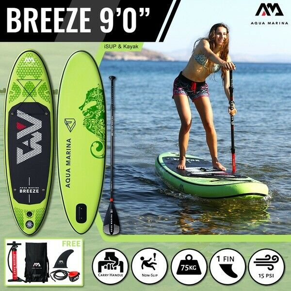 Aqua Marina Brisa SUP inflables - 2.75M 12CM Stand Up Paddle Board Tabla De Bodyboard