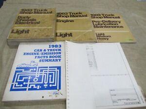 1983 Ford F-150 250 350 Bronco Service Repair Manual ...