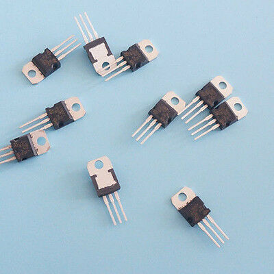 10pcs New IC L7805CV L7805 7805 TO-220 Voltage Regulator 5V