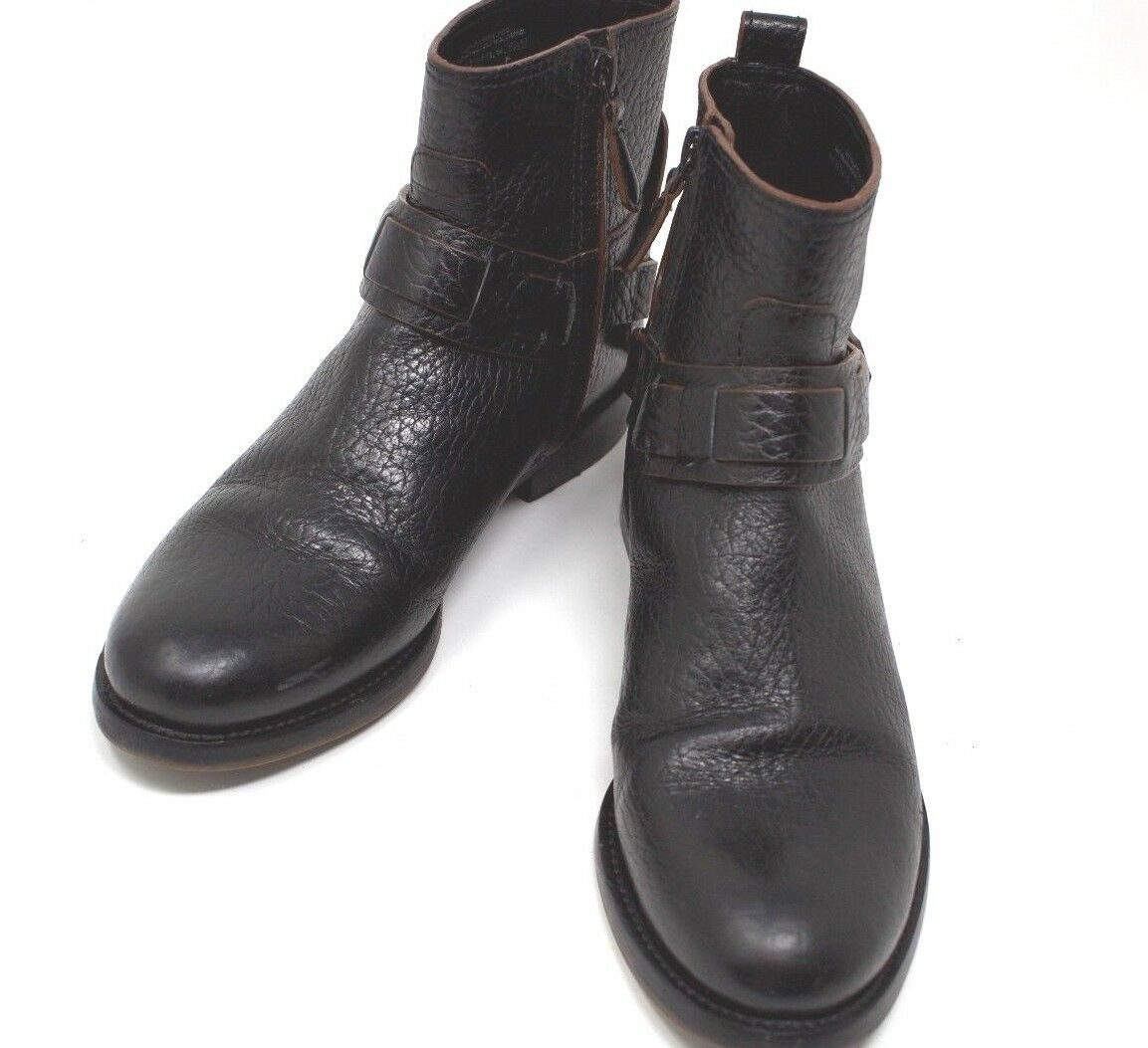 Tory Burch Color Negro Cuero Mujer Botines Zapato Tamaño 5.5