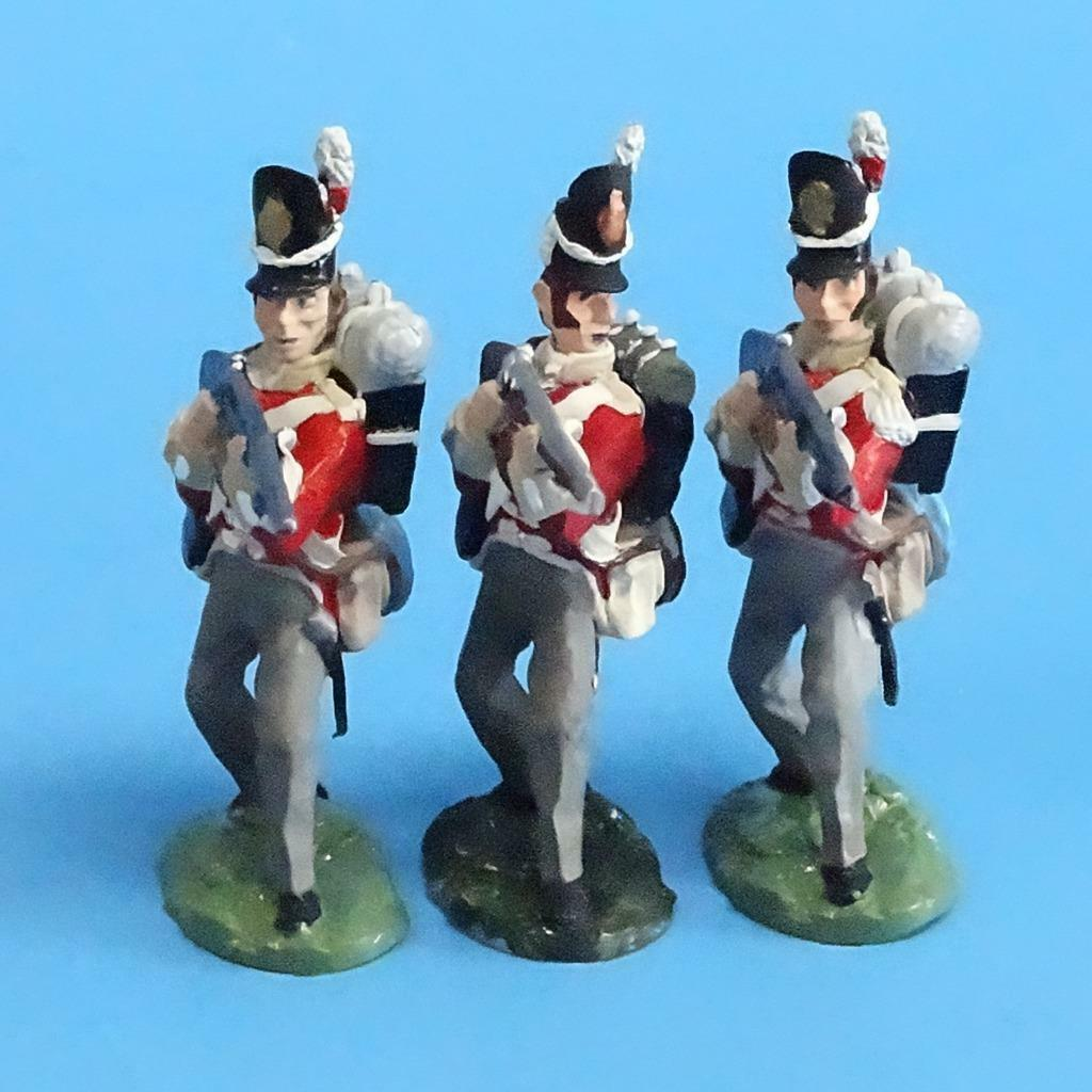 CORD-N0176 - British Infantry - Standing Firing (3 Pieces) - Napoleonics