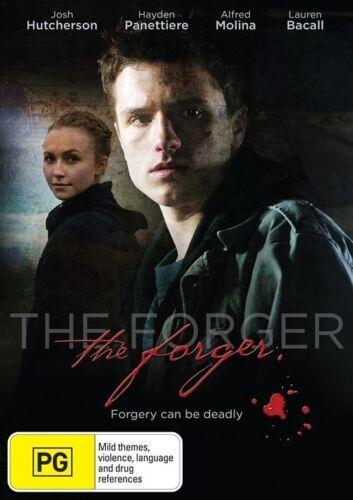 1 of 1 - The Forger - DVD Movie - Lauren Bacall Josh Hutcherson - Thriller - as NEW