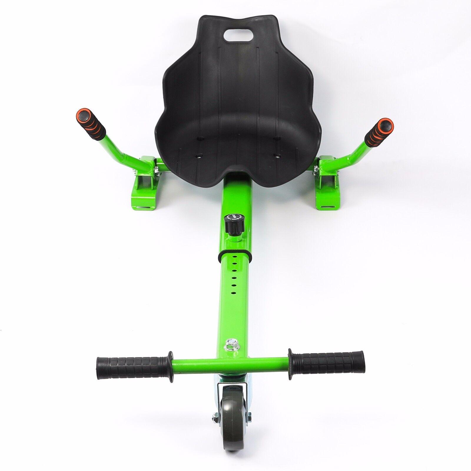 Ajustable verde Go  Kart Cochero hoverkart hoverCochet Stand Asiento para Aeropatines