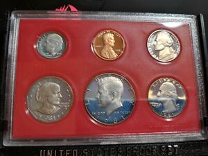 1981-Proof-Coin-Set-United-States-US-Mint-Original-Government-Packaging