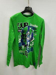 YFK kinder langarm shirt Grün Gr. 170/176 PR065