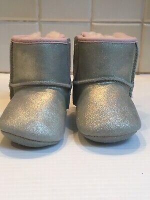 Infant Baby Girl UGG Jesse Bow Boots Chestnut Size 23 | eBay