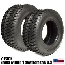 2PK New 16x6.50-8 TURF TIRES 4 Ply Tubeless John Deere Lawn Mower Tractor Rider