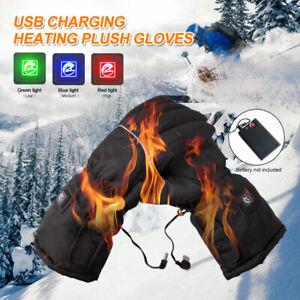USB-Beheizte-Handschuhe-Motorrad-Winter-Warme-Elektrische-Heizhandschuhe-Winter