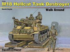 20306/ Squadron Signal - Walk Around 29 - M18 Hellcat Tank Destroyer - TOPP HEFT