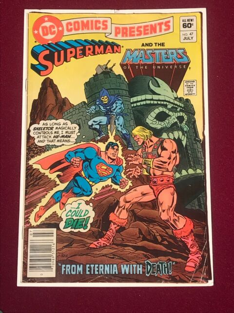DC COMICS PRESENTS #47: SUPERMAN AND THE MOTU, 1ST APP OF HE-MAN/SKELETOR