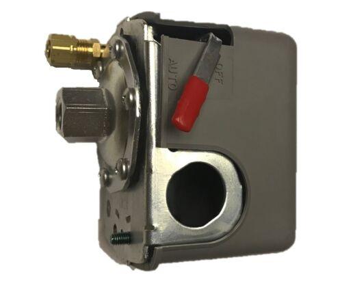 Squared 135-175 Psi Aire Compresor Válvula De Control De Interruptor De Presión 9013FHG42J59M1X