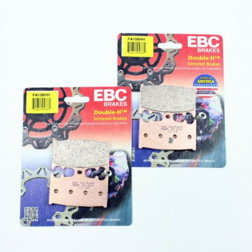 2 PAIR FOR 2000-2003 SUZUKI GSXR 750 FRONT EBC HH SINTERED BRAKE PADS