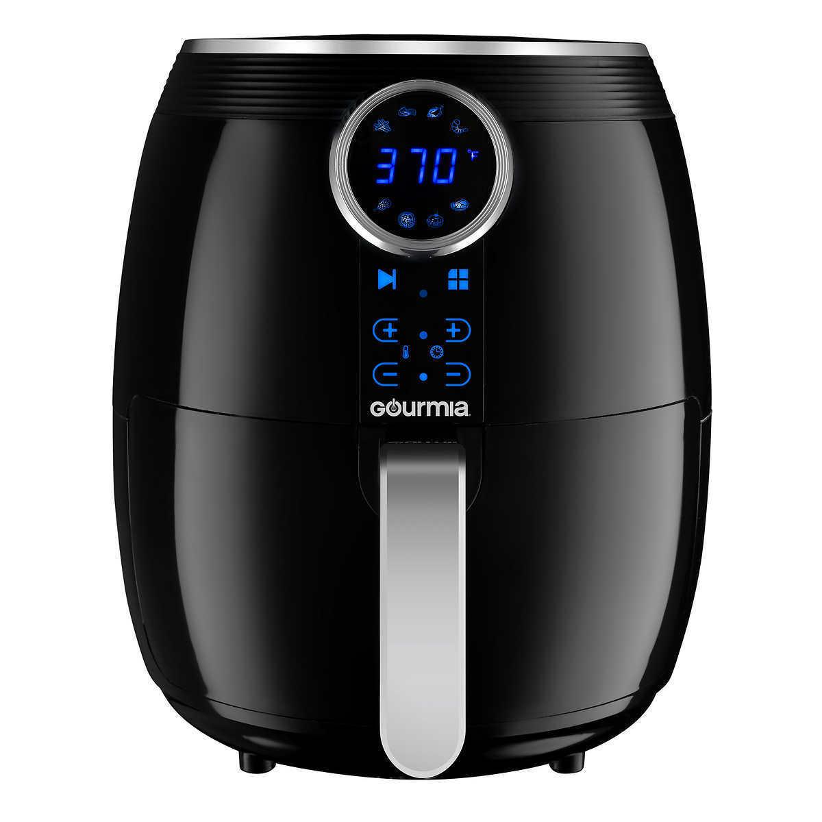 Gourmia Air Fryer 5 qt. Digital Display Oil Free Healthy Cooking Frying