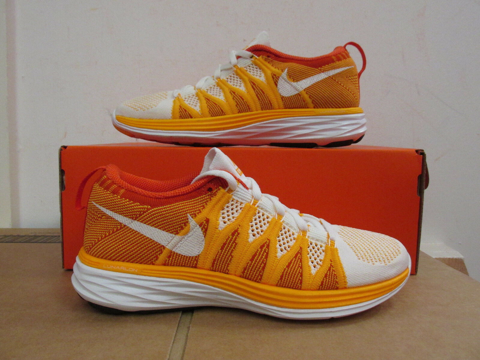 Nike Womens Flyknit Lunar 2 Running Trainers 620658 101 Shoes CLEARANCE best-selling model of the brand