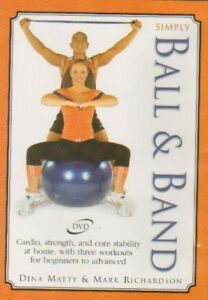 Simply Ball Amp Band With Pilates Principles Dvd 2004 New