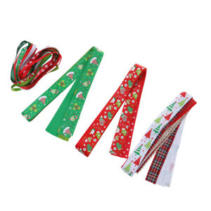 26pcs-Christmas-Ribbon-DIY-Grosgrain-Ribbon-for-Hair-Bows-Crafts-Decor