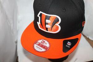 best loved d0c5e 459ff Image is loading Cincinnati-Bengals-NFL-New-Era-Baysic-9fifty-Snapback-