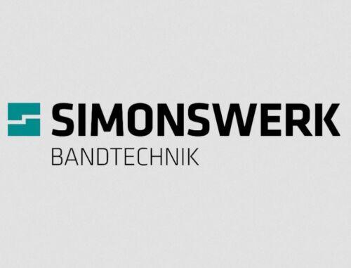 2x Simonswerk BAKA Renovierband K 3174 WF vernickelt zum Schrauben wartungsfrei