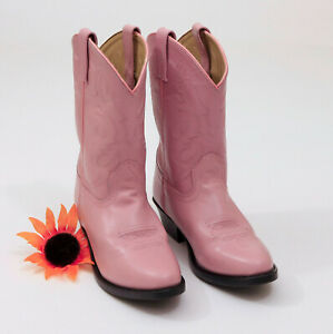 EUC-Smoky-Mountain-Western-Leather-Childs-Boots-US-2-5