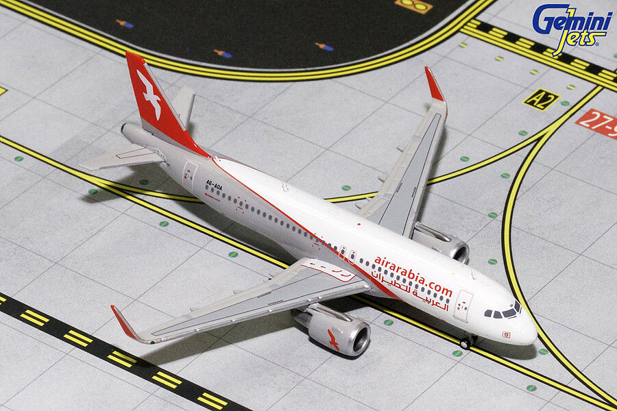 Air Arabia Airbus A320 A6-A0A Gemini Jets GJABY1436 Scale 1 400