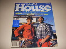 THIS OLD HOUSE Magazine, May/June, 1995, ANTIQUE LUMBER, OUTDOOR FIREPLACES!