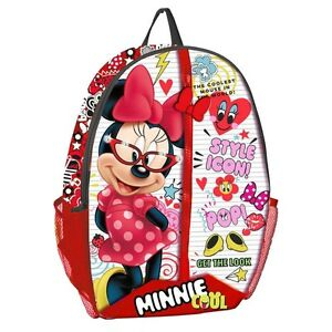 9f2e6289f1 Image is loading Backpack-DISNEY-MINNIE-MOUSE-Zaino-SAC-TWO-Backpack-