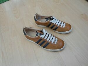 tan adidas trainers