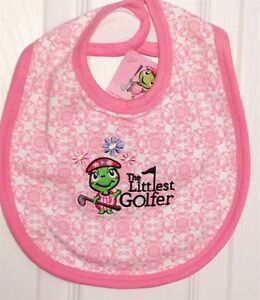 Baby-Golf-Theme-Bibs-Pink-Green-or-Navy