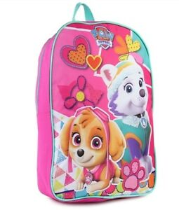 bc1199a43713 Image is loading 15-034-Paw-Patrol-Skye-Everest-Girls-Backpack-