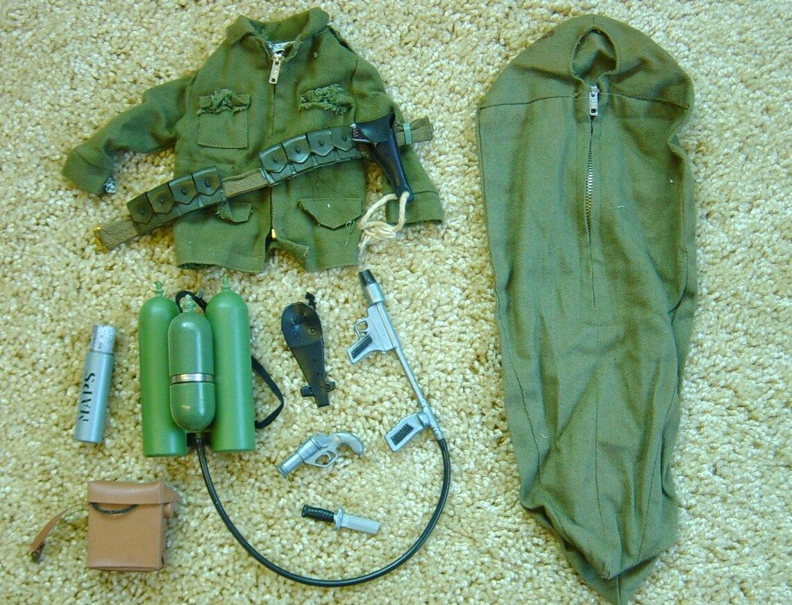 Gi Joe Vintage Army Equipment Lot