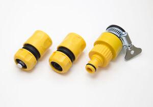 4x-Empuje-Ajuste-Freno-amp-Flujo-a-traves-2x-Multi-conector-de-Grifo-Caja-6-TUBO