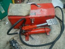 Mrc Hydraulic Cable Bender With Dies And Case And Directions