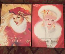 Peppermint Princess & Jewel Princess Barbie Dolls The Winter Princess Collection