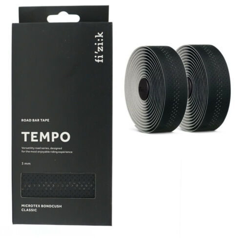 Fizik Tempo Microtex Bondcush Classic 3mm Handlebar Bar Tape Road Bike Pik Color