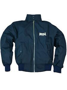 Lonsdale-Harrington-Ubergangsjacke-Fuer-Herren-England-Jacket-Navy-Tartan-5207